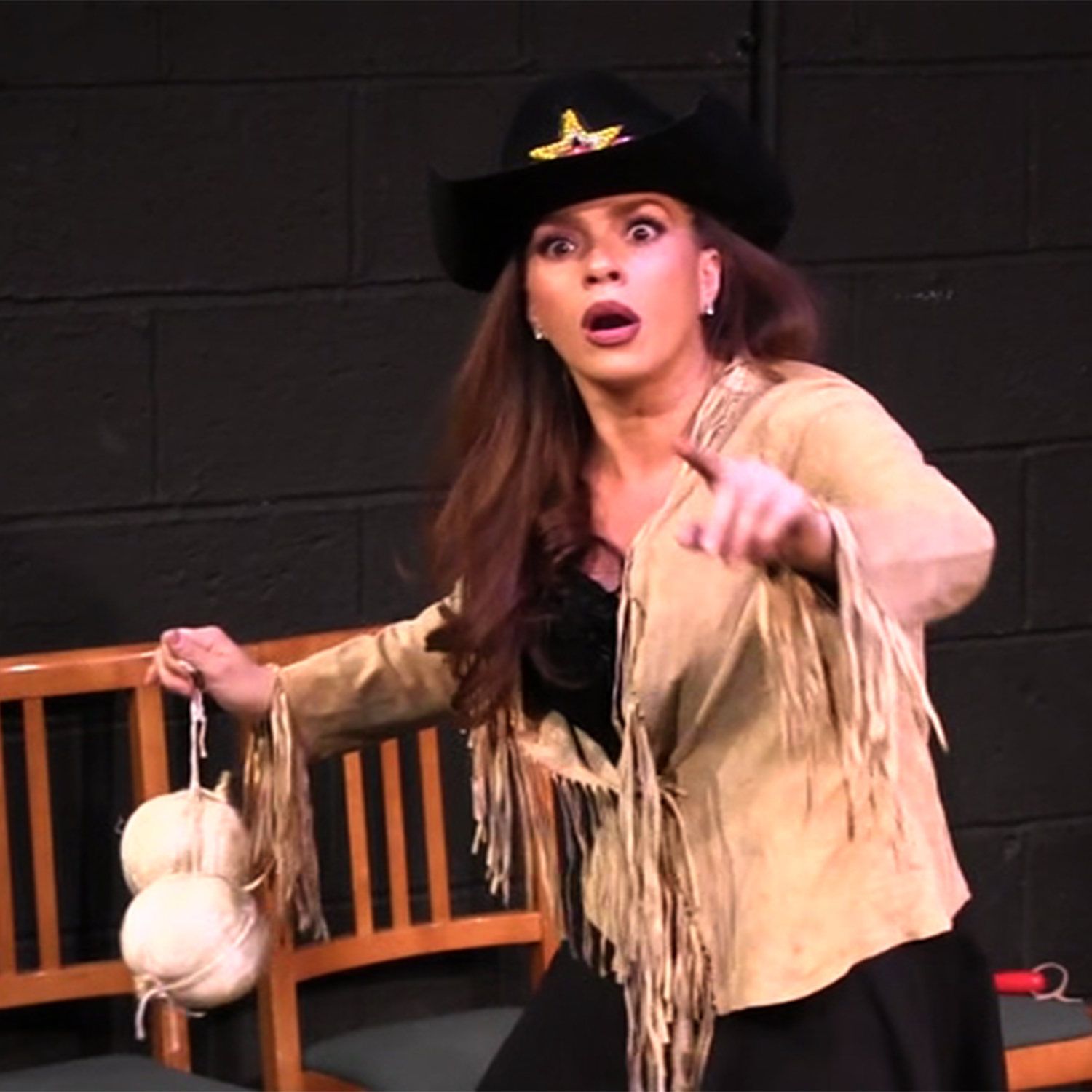 BWW Reviews: Carolann Valentino's BURNT AT THE STEAK is a Unique One-Woman Musical Comedy