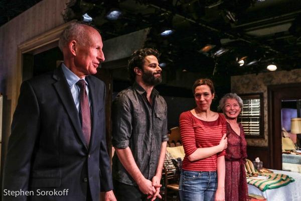 James Rebhorn, Luke Kirby, Rebecca Henderson, Phyllis Somerville Photo