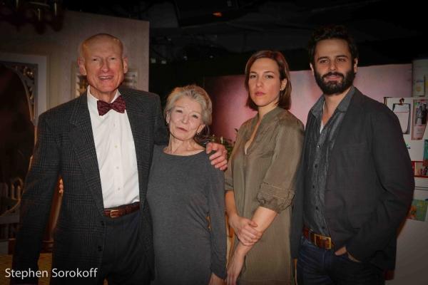 James Rebhorn, Phyllis Somerville, Rebecca Henderson, Luke Kirby Photo