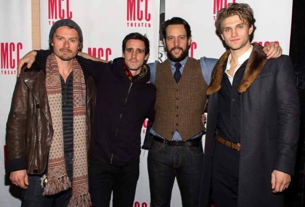 James Badge Dale, James Ransone, John Pollono, Keegan Allen