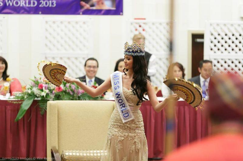 VIDEO: Miss World Visits NY, NJ; Raises $20,000 for Supertyphoon Haiyan Victims