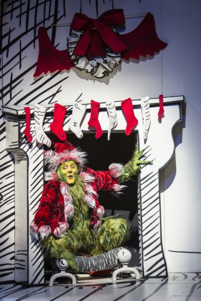 Photo Flash: First Look at Steve Blanchard, Steve Gunderson and More in Old Globe's HOW THE GRINCH STOLE CHRISTMAS