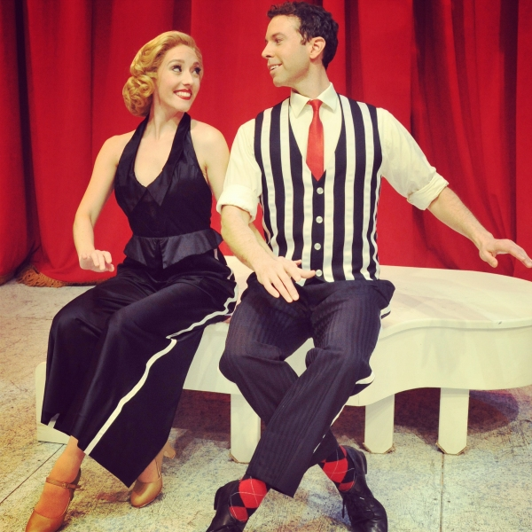 Jeremy Benton (Phil) & Kelly Sheehan (Judy) perform ''I Love A Piano''.