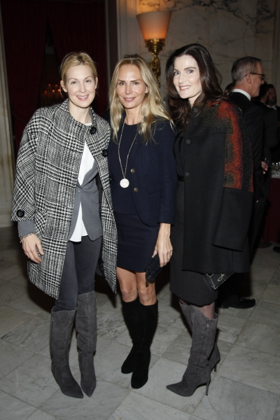 Kelly Rutherford, Valesca Guerrand-Hermes, Jennifer Creel