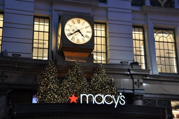 Macy's New York City Windows Opening