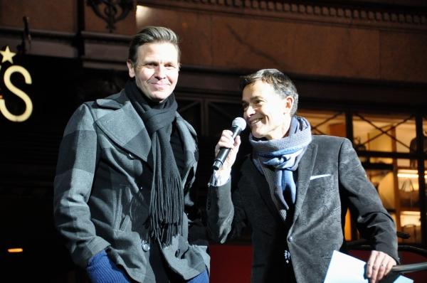 Paul Olszewski (Window Designer) and William Schemerhorn