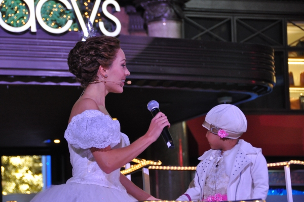 Laura Osnes and Lady