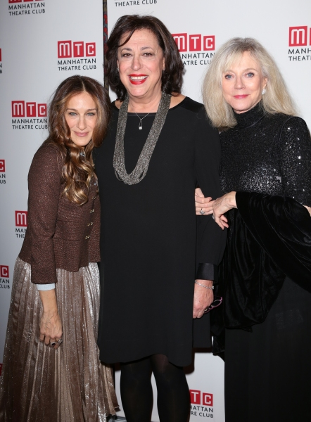 Sarah Jessica Parker, Lynne Meadow and Blythe Danner  Photo