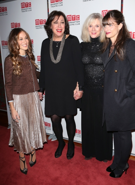 Sarah Jessica Parker, Lynne Meadow, Blythe Danner and Amanda Peet