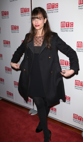 Playwright Amanda Peet