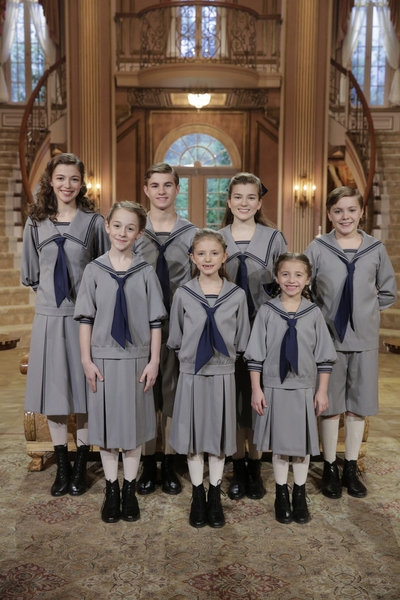 Photo Flash: First look - NBC's SOUND OF MUSIC Von Trapp Children in Costume & More!