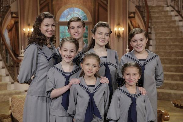 Photo Flash: First look - NBC's SOUND OF MUSIC Von Trapp Children in Costume & More!