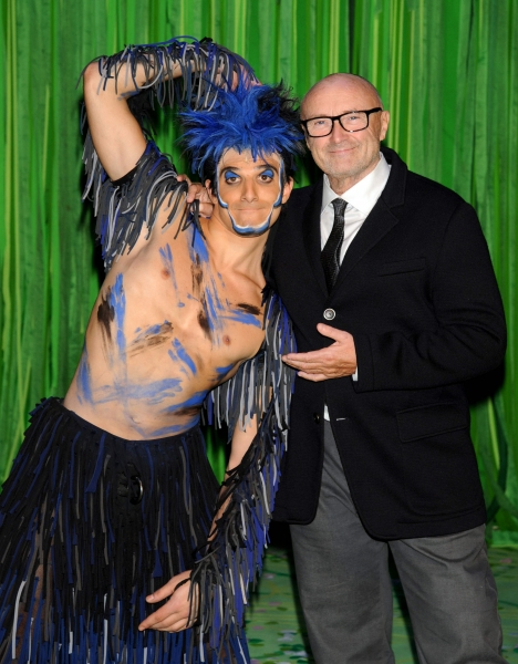 Mandatory Credit: Photo by Willi Schneider/Rex/REX USA (1825019g)Emanuele Caserta, Phil Collins''Tarzan'' the Musical Premiere, Stuggart, Germany - 21 Nov 2013