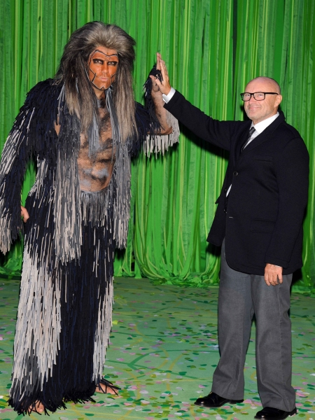 Mandatory Credit: Photo by Willi Schneider/Rex/REX USA (1825019l)Andreas Lichtenberger, Phil Collins''Tarzan'' the Musical Premiere, Stuggart, Germany - 21 Nov 2013