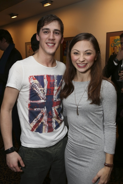 From left, cast members Dominic North and Hannah Vassallo pose during the reception for the opening night performance of ''Matthew Bourne''s Sleeping Beauty'' at the Center Theatre Group/Ahmanson Theatre on November 21, 2013, in Los Angeles, Calif. (Photo