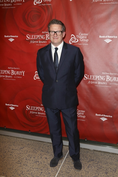 Director/Choreographer Matthew Bourne poses during the arrivals for the opening night performance of ''Matthew Bourne''s Sleeping Beauty'' at the Center Theatre Group/Ahmanson Theatre on November 21, 2013, in Los Angeles, Calif. (Photo by Ryan Miller/Capt