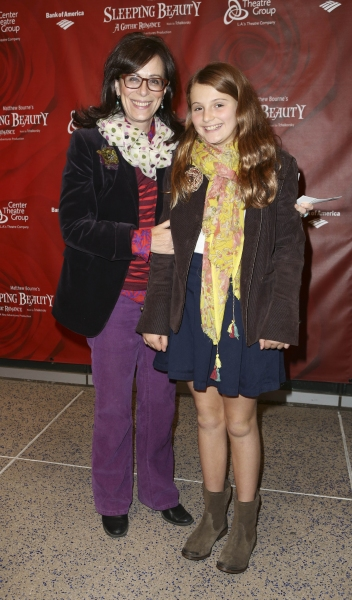 From left, actress Jane Kaczmarek and Mary Kaczmarek pose during the arrivals for the opening night performance of ''Matthew Bourne''s Sleeping Beauty'' at the Center Theatre Group/Ahmanson Theatre on November 21, 2013, in Los Angeles, Calif. (Photo by Ry