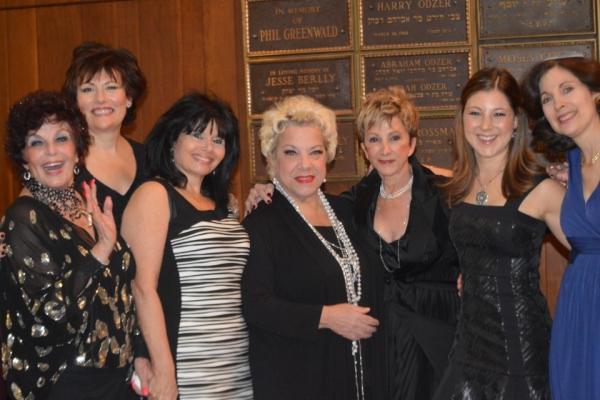 Dana Lorge, Valerie Lemon, Karen Wyman,  Camille Saviola, Barbara Minkus, Lauren Schaffel, Rabbi Jill
