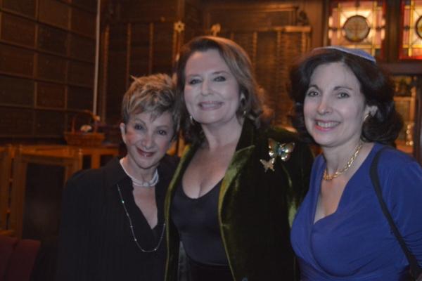 Barbara Minkus, Randie Levine-Miller, Rabbi Jill Hausman