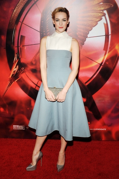 Jena Malone at ''The Hunger Games: Catching Fire'' film screening in New York, Ameri Photo
