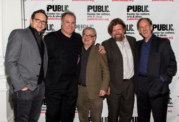 Stephen Kunken, Jay O. Sanders, Richard Nelson, Oskar Eustis, Jon DeVries