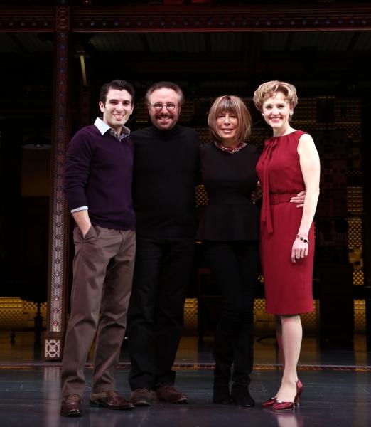 Jarrod Spector, Gerry Goffin, Cynthia Weil and Anika Larsen  Photo