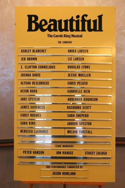 Photo Coverage: Sneak Peek at Jessie Mueller and More in BEAUTIFUL: THE CAROLE KING MUSICAL!