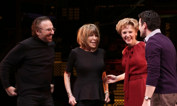 Gerry Goffin, Cynthia Weil, Anika Larsen and Jarrod Spector  Photo