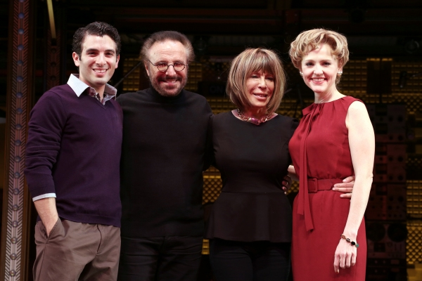 Jarrod Spector, Gerry Goffin, Cynthia Weil and Anika Larsen  Photo