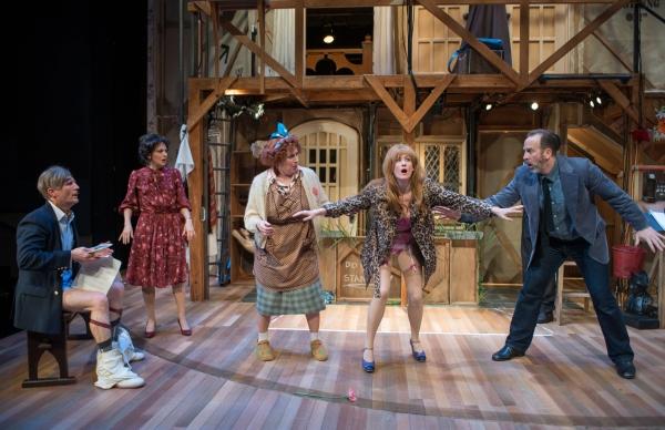 Aaron Christensen, Deborah Staples, Laura Gordon, Kelley Faulkner and Joe Dempsey  Photo
