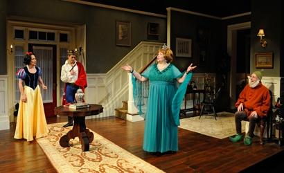 Masha (Phyllis Kay), Spike (Mark Larson), Sonia (Janice Duclos) and Vanya (Brian McEl Photo