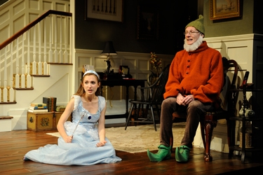 Nina (Sylvia Kates) and Vanya (Brian McEleney)