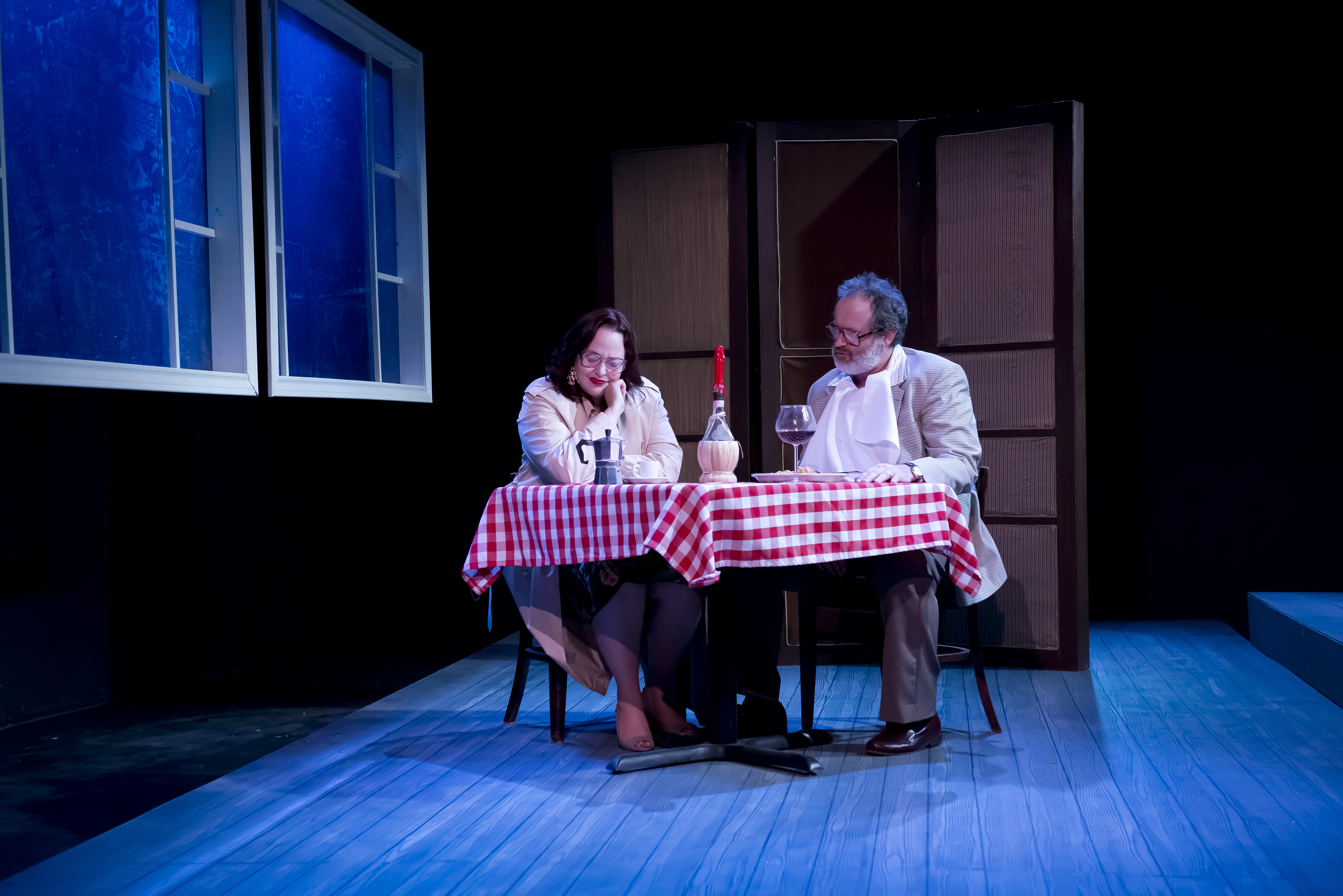 BWW Reviews: The Catastrophic Theatre's MARIE AND BRUCE is Gut Wrenching Dark Comedy