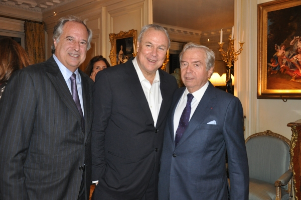 Stewart F. Lane, Robert Wilson and Xavier Guerrand-Hermes