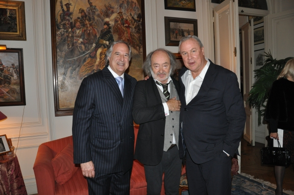 Stewart F. Lane, Michel Taittinger, Robert Wilson