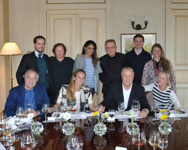 back row: Jullian Mommert,  Karolina Blaberg, Piki Patel, Richard Gergory, Zev Greenfield, Bonnie Comley  front row: Stewart F. Lane, Irina Manoliu, Robert Wilson, Lisa Ehrenkranz