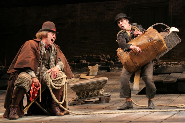 Review: Ambiguity Abounds in WAITING FOR GODOT & NO MAN'S LAND