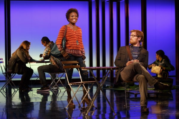 LaChanze as Kate and Anthony Rapp as Lucas