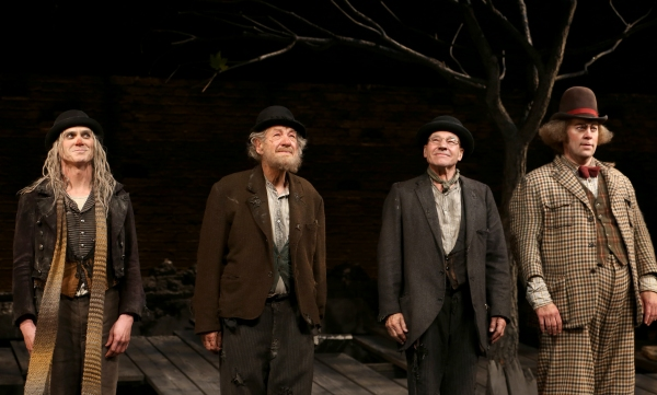Billy Crudup, Ian McKellen, Patrick Stewart and Shuler Hensley