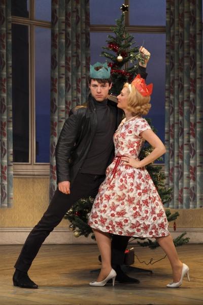 Alan (Dominic Thorburn) and Pauline (Kellie Shirley)