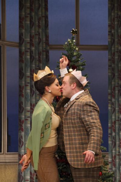 Dolly (Angela Griffin) and Francis (Owain Arthur)