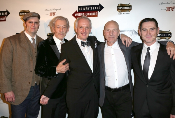Photo Coverage: WAITING FOR GODOT & NO MAN'S LAND's Patrick Stewart, Ian McKellen & More Celebrate Opening Night!