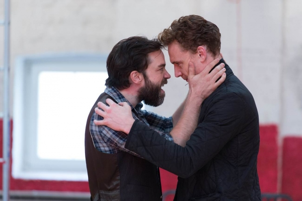 Photo Flash: In Rehearsal with Tom Hiddleston & More for Donmar Warehouse's CORIOLANUS
