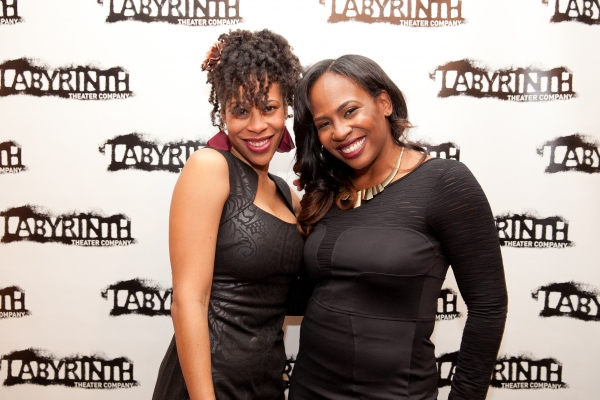 Dominique Morriseau (playwright) and Kamilah Forbes (director) Photo