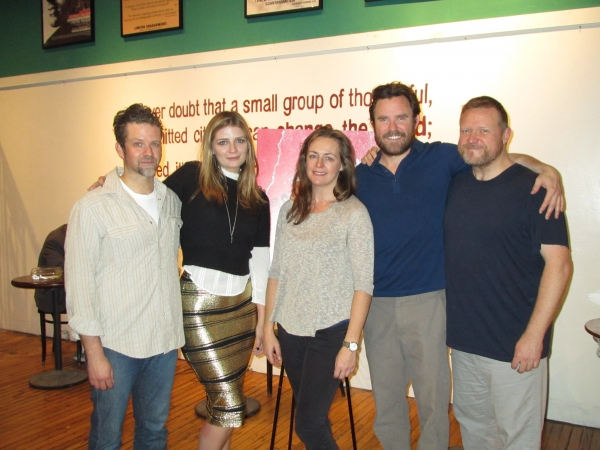 Tom O'Keefe, Mischa Barton, Andrus Nichols, Eric Tucker and Edmund Lewis