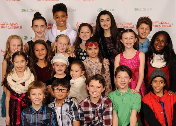 The Grinch Who Stole Christmas Cast.Young Cast Members At The Opening Night Party For Dr Seuss