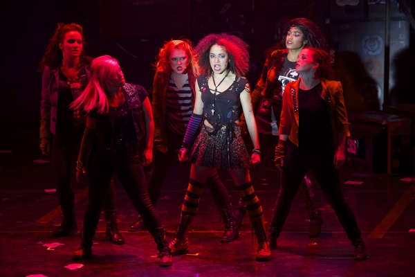 Olivia Puckett (Whatsername) and the Ladies of AMERICAN IDIOT Photo