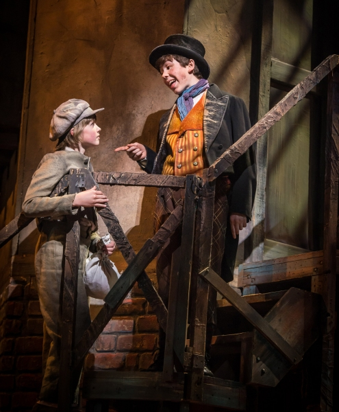 Photo Flash: First Look at David Garrison, Betsy Morgan, Tyler Moran and More in Paper Mill Playhouse's OLIVER!