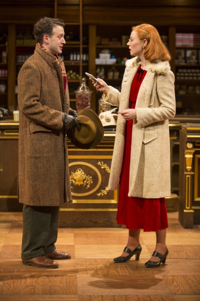 Photo Flash: First Look at Revival of PARFUMERIE, Helmed by Mark Brokaw at the Wallis