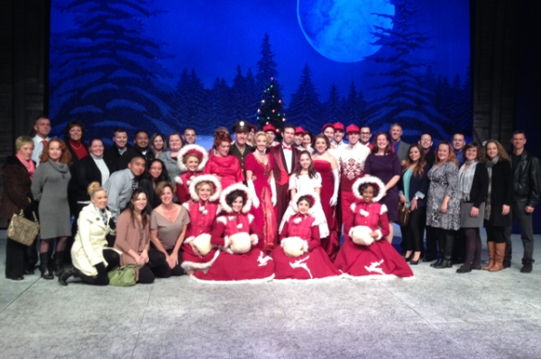 Photo Flash: Marines Visit Westchester Broadway Theatre's WHITE CHRISTMAS